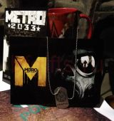 Таблички из металла МЕТРО 2033