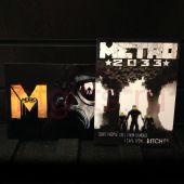 Металлическая табличка на стену Метро 2033